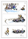 Cartoon: without words (small) by pyatikop tagged pyatikop,humor,eccentric,weirdo,cartoon