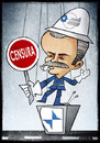 Cartoon: Masi (small) by Giacomo tagged masi,rai,tv,media,censorship,satire,policy,mediaset,berlusconi,control,vigilant,traffic,giacomo,cardelli,jack
