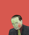 Cartoon: Berlusconi la claque (small) by No tagged berlusconi,italie,italia,referundum