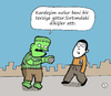 Cartoon: Frenkeshtain (small) by Musluk tagged frenk,horror