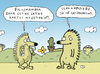 Cartoon: Hedgehogs (small) by Musluk tagged hedgehog