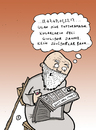 Cartoon: White Beard Grandpa (small) by Musluk tagged grandpa,lottery