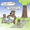 Cartoon: Yogi in Turkey (small) by Musluk tagged yogi
