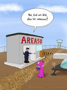 Cartoon: nebenan (small) by fcartoons tagged nebenan next door alien area51 area usa ufo tower überwachung security