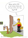 Cartoon: Paketbote beim Osterhase (small) by fcartoons tagged bote,bunny,cartoon,christmas,dhl,door,easter,funny,mailman,open,package,hase,osterhase,ostern,paket,postbote,päckchen,schreien,treppenhaus,tür,offen,korb,eier