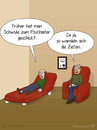 Cartoon: Psychiater (small) by fcartoons tagged couch fun funny upset rage gay man picture psychiatrist red bild brille cartoon fcartoons lustig psychiater psychology rot schwul sofa verrückt