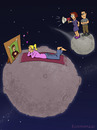 Cartoon: Teen Planet (small) by fcartoons tagged teen,planet,parents,girl,teenager,mädchen,eltern,pubertät,puberty,planets,universe,fcartoons,cartoon,schwarm,poster,vater,mutter,mother