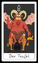 Cartoon: Der Teufel (small) by Rob tagged tarot,devil,teufel,lemming,lemminge