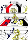Cartoon: YES OR NO (small) by AHMEDSAMIRFARID tagged ahmed,samir,farid,yes,no,egyptair,cartoon,caricature