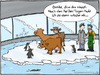 Cartoon: Hitzestress (small) by Hannes tagged hitzestress,sommer,tiere,haustiere,abkühlung