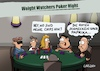 Cartoon: Chips (small) by LAHS tagged poker,chips,weight,watchers,abnehmen,aufessen