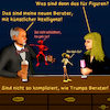 Cartoon: Bargespräche 13 - Berater (small) by PuzzleVisions tagged puzzlevisions künstliche intelligenz artificial intelligence donald trump