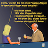 Cartoon: Bargespräche 4 (small) by PuzzleVisions tagged puzzlevisions künstliche intelligenz artificial intelligence piloten pilots airbus sex roboter robot fliegen flying