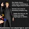 Cartoon: Lobbyismus (small) by PuzzleVisions tagged puzzlevisions,email,bundestag,ausfall,internet,lobbyist,lobbyismus,lobby