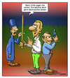 Cartoon: Zwei Duellanten (small) by Troganer tagged duell,degen,pistole,adjutant,zeikampf,sport
