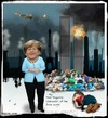 Cartoon: Chancellor of the free world (small) by Babak Massoumi tagged angela,merkel,time,magazine,free,world