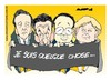 Cartoon: Quelque chose... (small) by Amorim tagged charliehebdo