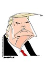 Cartoon: Trump (small) by Amorim tagged donald,trump