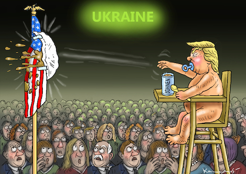 Cartoon: BOHNENFRESSER TRUMP (medium) by marian kamensky tagged selenskyj,ukraine,rüstungsgeld,trump,wahllampfhilfe,joe,biden,amtsenthebungsverfahren,selenskyj,ukraine,rüstungsgeld,trump,wahllampfhilfe,joe,biden,amtsenthebungsverfahren