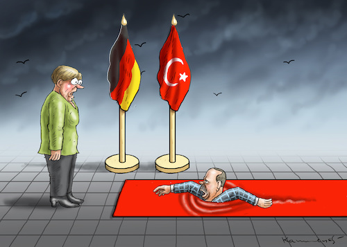 Cartoon: ERDOGAN KOMMT ANGESCHWOMMEN (medium) by marian kamensky tagged trump,versus,erdogan,lira,türkei,sanktionen,erdogans,iphone,boykott,trump,versus,erdogan,lira,türkei,sanktionen,erdogans,iphone,boykott