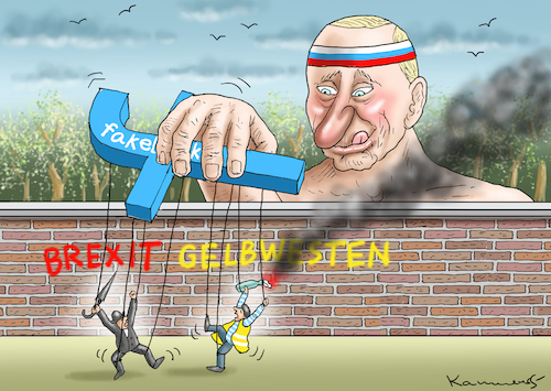 Cartoon: THE WINNER PUTIN (medium) by marian kamensky tagged macron,gibt,nach,gelbwesten,paris,proteste,rotschals,macron,gibt,nach,gelbwesten,paris,proteste,rotschals