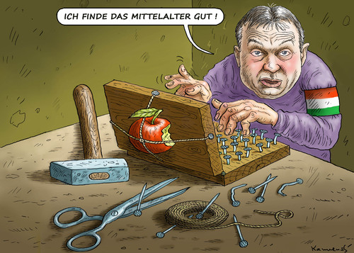 Cartoon: VIKTOR ORBAN (medium) by marian kamensky tagged viktor,orban,ungarn,internet,digital,pressefreiheit,nationalismus,viktor,orban,ungarn,internet,digital,pressefreiheit,nationalismus