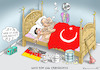 Cartoon: ARME OPFER ÖZIL UND ERDOWAHN (small) by marian kamensky tagged özil,gündogan,erdogan,akp,propaganda