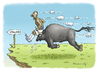 Cartoon: Balotelli (small) by marian kamensky tagged em,balotelli,italien,spanien,fussball