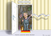 Cartoon: BORIS BECKER IST 50 (small) by marian kamensky tagged boris,becker,tennis,legende