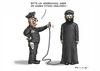 Cartoon: DUMME FBI (small) by marian kamensky tagged san,domingo,fbi,terroranschlag,is