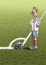 Cartoon: Eckball (small) by marian kamensky tagged fussball,eckball,sport,championslegue,england,london