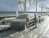 Cartoon: Gefriertruhewinter (small) by marian kamensky tagged extrem,winter,coldness,sibirian,weather