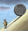 Cartoon: Happy New Year? (small) by marian kamensky tagged humor