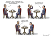 Cartoon: HOLLANDE TRIFFT OBAMA (small) by marian kamensky tagged hollande,trifft,obama,terroranschlag,in,paris