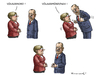 Cartoon: MERKEL GIBT NACH (small) by marian kamensky tagged bluttest,merkel,erdogan,völkermord,an,armenier