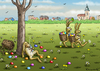 Cartoon: NA DANN FROHE OSTERN (small) by marian kamensky tagged ostern,osterhase