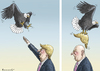 Cartoon: THE TIME S EAGLE UNCLE SAM (small) by marian kamensky tagged präsident,donald,trump,repiblikaner,präsidentenwahl,in,amerika