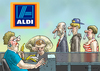 Cartoon: UMSATZSTEIGERUNG (small) by marian kamensky tagged aldi,koks,berlin