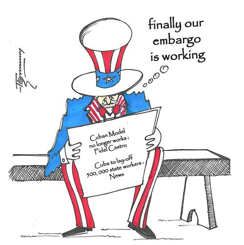 an analysis of the us imposed embargo on cuba