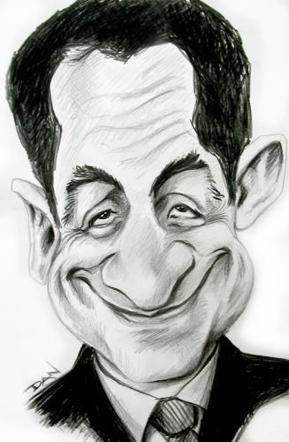 caricature of sarkozy 196965 -