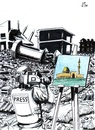 Cartoon: Information and Truth (small) by paolo lombardi tagged war,peace