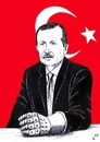 Cartoon: Knuckle Duster in Turkey (small) by paolo lombardi tagged turkey