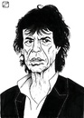 Cartoon: Mick Jagger (small) by paolo lombardi tagged rolling,stones,rock,caricature