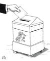 Cartoon: New elections in Greece (small) by paolo lombardi tagged greece,default,economy,crisis,finance