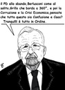 Cartoon: Ordine (small) by paolo lombardi tagged italy,bersani,berlusconi,grillo,governo,letta