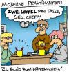 Cartoon: 2TL pro Tasse (small) by fussel tagged praktikanten kaffeekochen büro