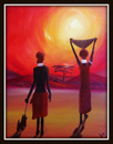 Cartoon: Sunset (small) by Krinisty tagged tribal,african,art,hot,sun,sunset,krinisty,photography