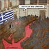 Cartoon: Der Tragödie nächster Teil (small) by Fenya tagged griechenland,politik,euro,eu,eurogruppe,cartoon,fernsehen,tsipras,syriza,eurokrise,wirtschaftskrise,schuldenkrise,hilfspaket,parlament