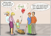 Cartoon: schlampenfest (small) by SoRei tagged kind,ballon,paare,hund,familie,schussfest,schlampenfest,knall,zerplatzen,zittern,angst,defizit,kritik,bloßstellung,händchenhalten,mann,frau,begegnung,smalltalk,herabsetzung