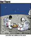 Cartoon: campfire (small) by George tagged campfire